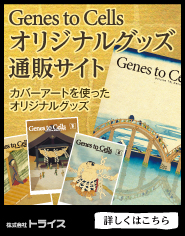 Genes to Cellsオリジナルグッズ